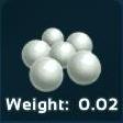 Spinosaurus - Silica Perlen / Silica Pearls