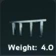 Metal Fence Symbol