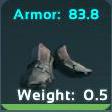 Chitin Boots Symbol