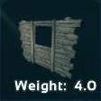 Wooden WindowFrame Symbol