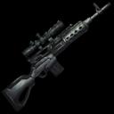 Fabricated Sniper Rifle Symbol