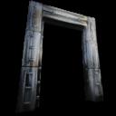 Metal Dinosaur Gateway Symbol