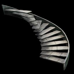 Metal Staircase Symbol
