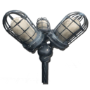 Omnidirectional lamppost Symbol