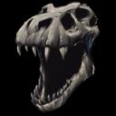 Rex Bone Helmet Skin Symbol