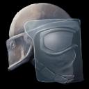 Riot Helmet Symbol