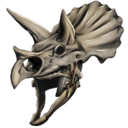 Trike Bone Helmet Skin Symbol
