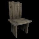 Wooden Chair Symbol