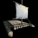 Wooden Raft Symbol
